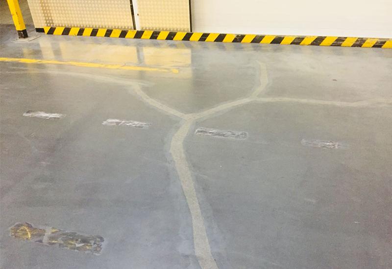 Ремонт сколов и трещин в бетоне