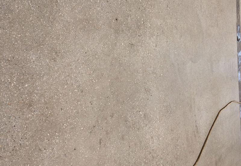 Бесшовная плита на грунтовом основании