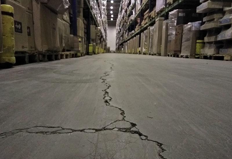 Дефекты бетонного пола и причины их появления